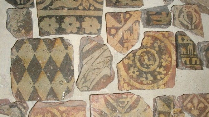 Ancient floor tiles