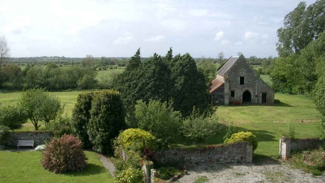 Chapel from the chateau