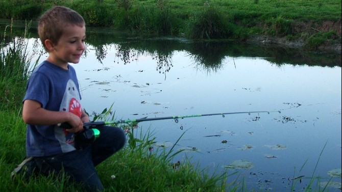 Fishing the river lelle