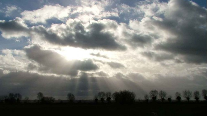 Winter sunshine over the marshes 5
